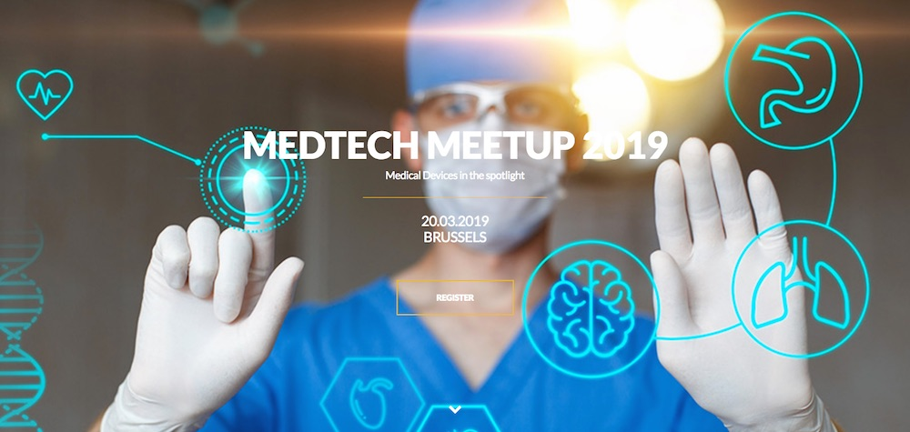 MedTech Meetup Brussels, 20 March 2019