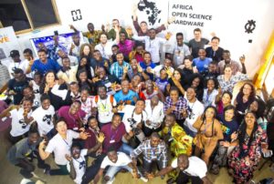 Picture of the attendees of AfricaOSH 2018